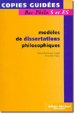 modeles dissertations philosophiques